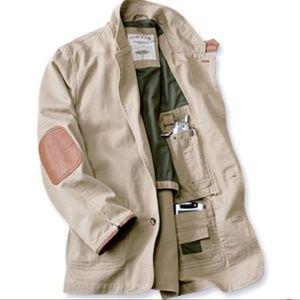 ORVIS Zambezi Twill Jacket, Khaki